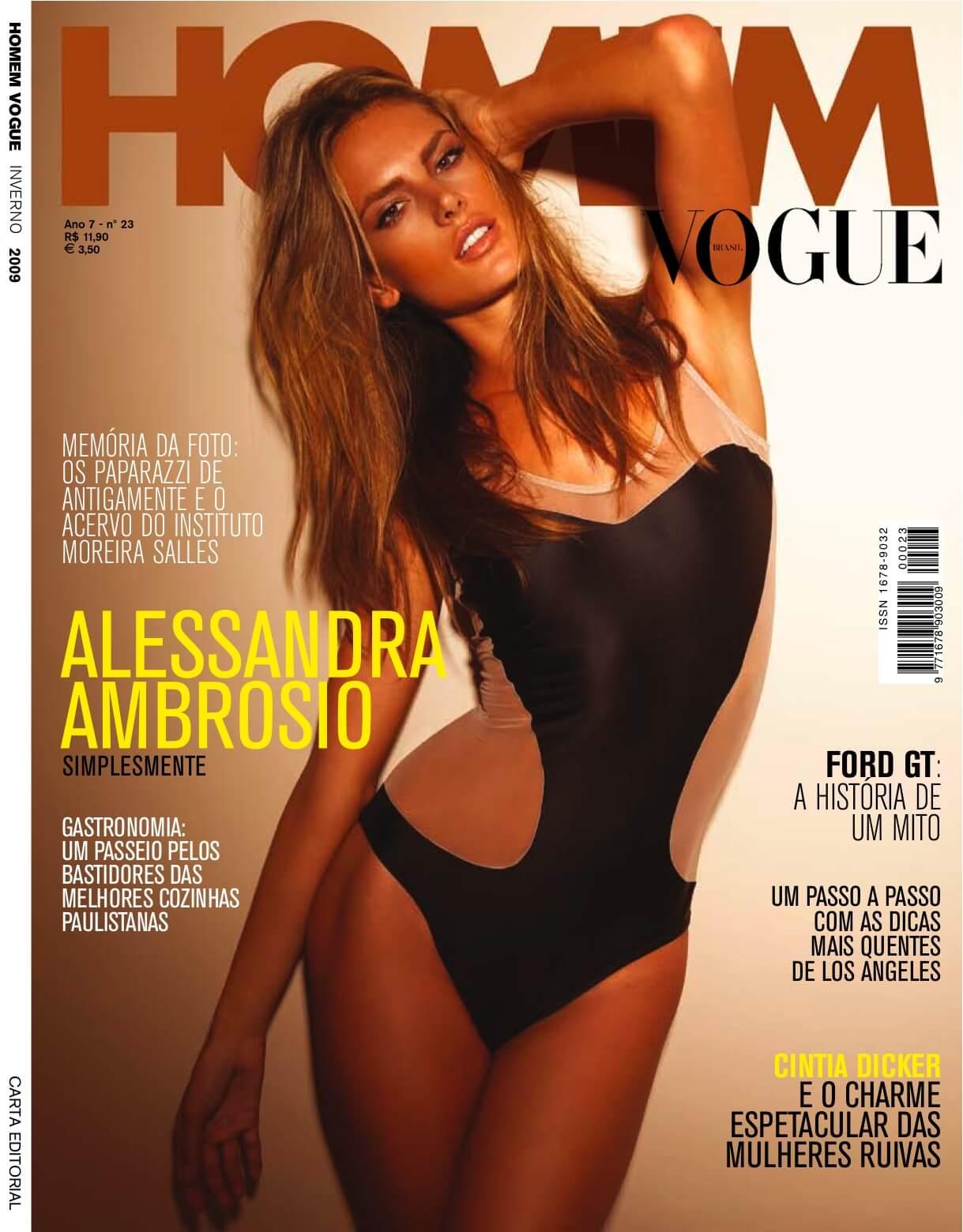 Revista Vogue Homem Brasil