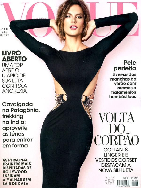 Mais uma edição da Vogue Brasil com Alessandra Ambrosio