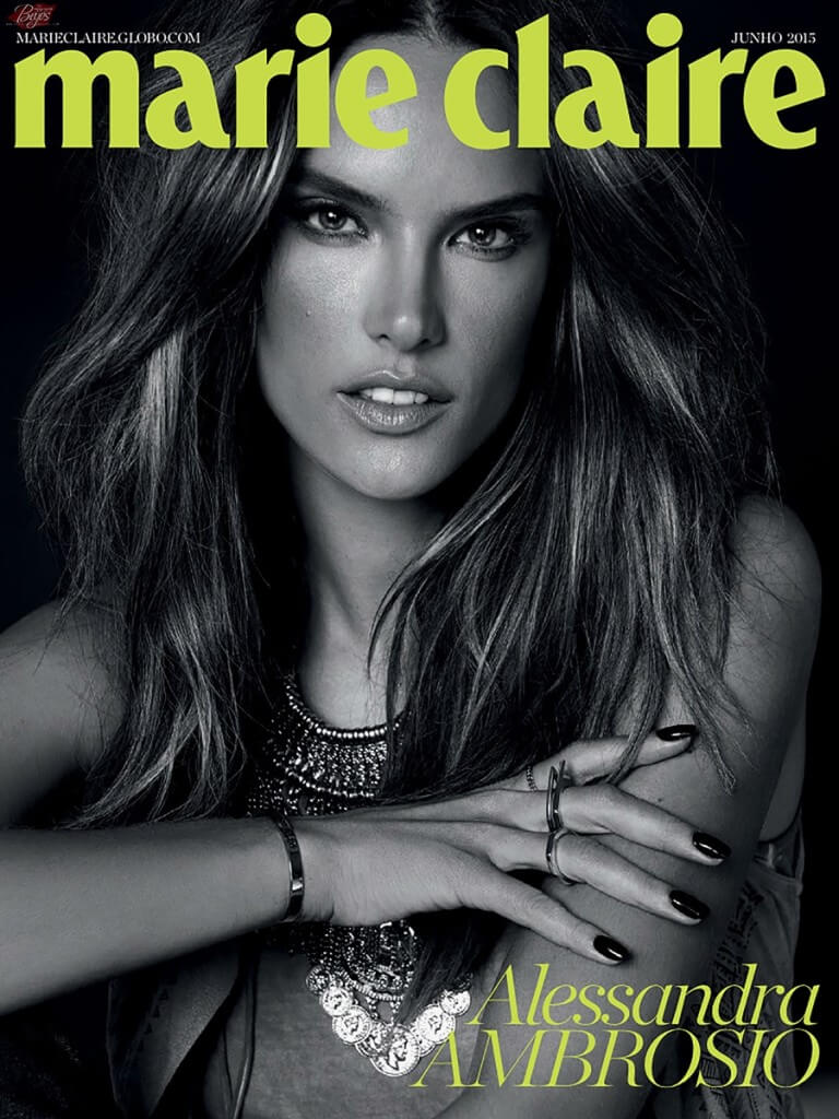Alessandra para Revista Marie Claire